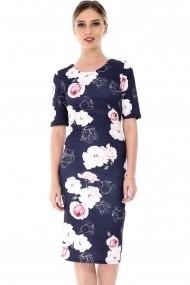 Rochie midi Roh Boutique DR3388 Floral