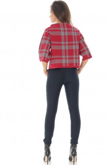 Pantaloni skinny Roh Boutique TR332 bleumarin