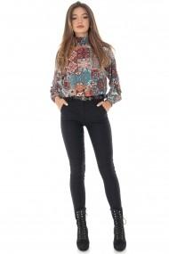 Pantaloni skinny Roh Boutique TR330 negru