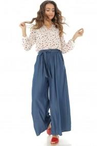 Pantaloni largi Roh Boutique TR310 Albastru