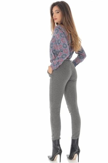Pantaloni drepti Roh Boutique ROH - TR334 carouri
