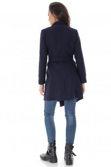 Palton Roh Boutique JR491 bleumarin