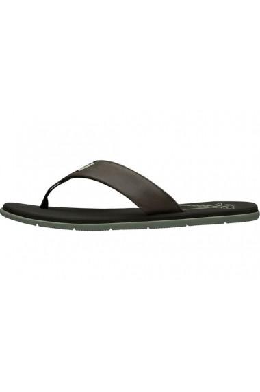 Papuci pentru barbati Helly Hansen Seasand Leather Sandal 11495-713