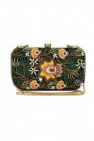 Geanta Borro Design Fabulous Summer Muse Purse BR1445GR verde