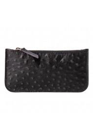 Portofel multifunctional e-store MK piele naturala negru