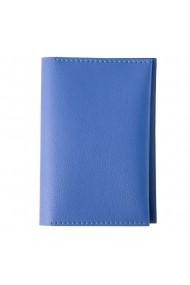 Portpasaport e-store MK piele ecologica bleu