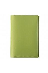 Portpasaport e-store MK piele ecologica vernil