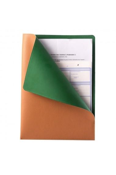 Mapa documente e-store MK piele ecologica bej