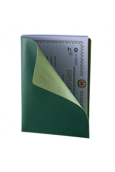 Mapa documente e-store piele ecologica verde