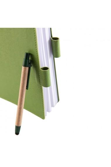 Notes Colored A5 hartie alba liniatura vernil