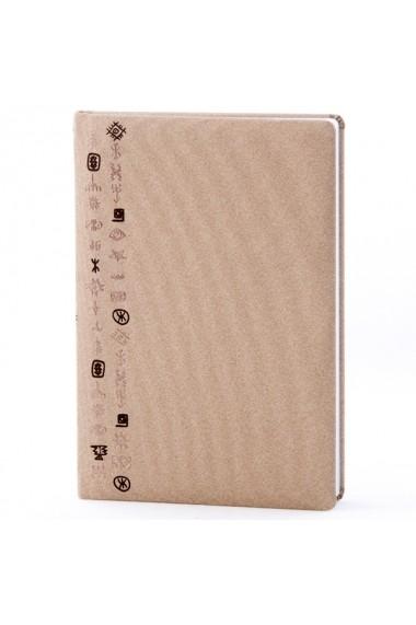 Notes Design Tartaria si Cucuteni A5 liniatura Bej