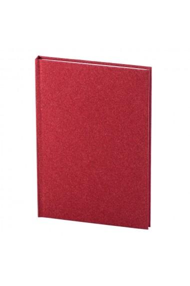 Notes Natura A5 hartie alba liniatura rosu