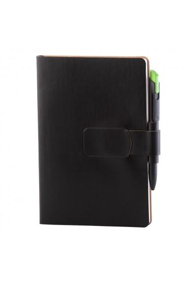Notes Ravelo A5 hartie alba liniatura negru