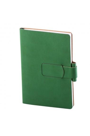 Notes Ravelo A5 hartie ivory liniatura verde