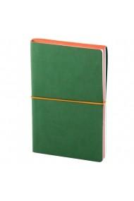 Notes Switch A5 hartie alba liniatura si matematica Verde/Portocaliu