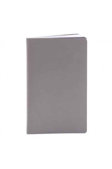 Set 4 notesuri Pastel 12.5 x 20 cm hartie alba velin multicolor