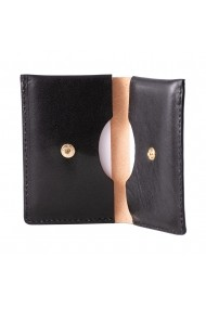 Portcard e-store piele naturala negru