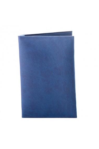 Portdocumente Twin albastru