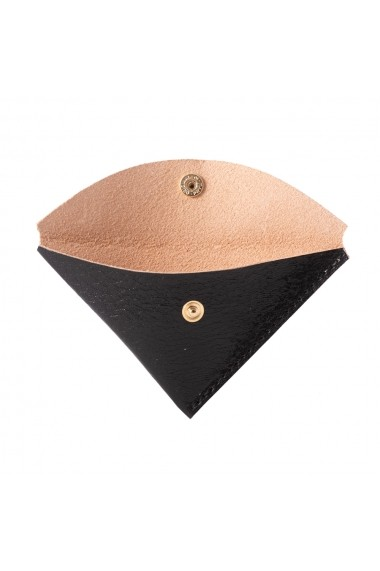 Portmonede e-store piele naturala negru