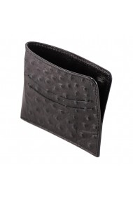 Portofel carduri e-store MK piele naturala negru