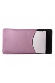 Husa laptop cu mouse pad e-store MK piele naturala mov