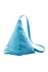 Rucsac piele naturala Vernazza Turquoise