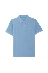 Tricou Polo BENETTON GGM123 albastru LRD-GGM123-1346
