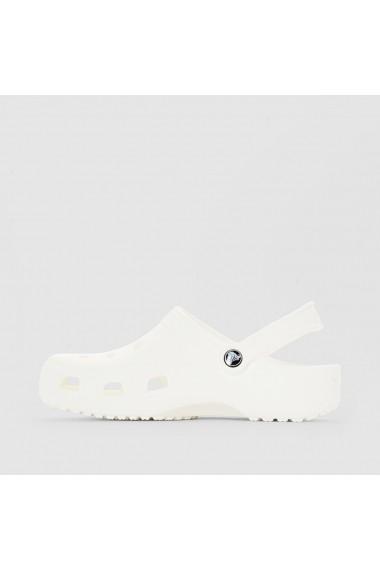 Sandale plate Crocs GAW740 alb