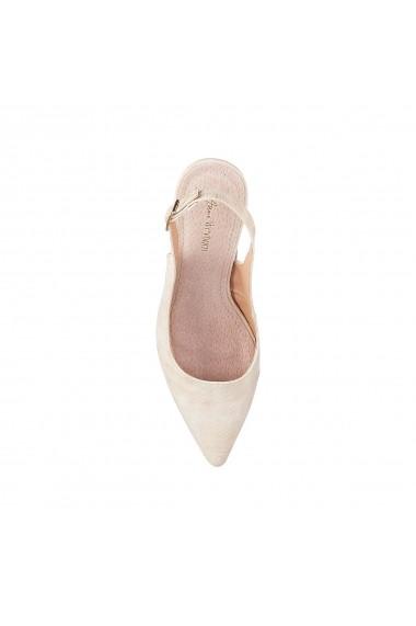 Pantofi cu toc ANNE WEYBURN GEO032 bej
