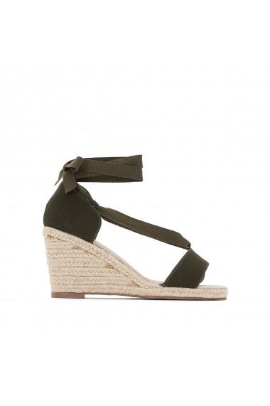 Sandale cu toc ANNE WEYBURN GCA434 kaki