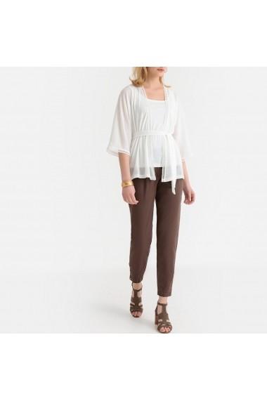 Pantaloni ANNE WEYBURN GGB518 maro - els