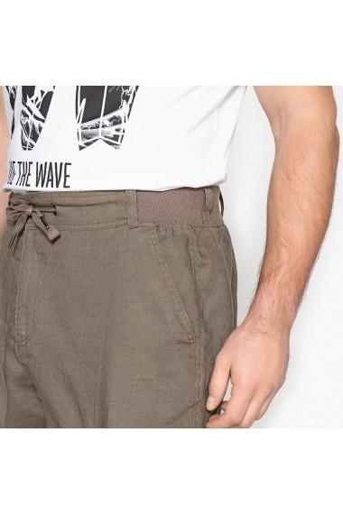 Pantaloni drepti CASTALUNA FOR MEN BUA947 gri-bej