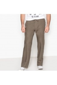 Pantaloni drepti CASTALUNA FOR MEN BUA947 gri-bej