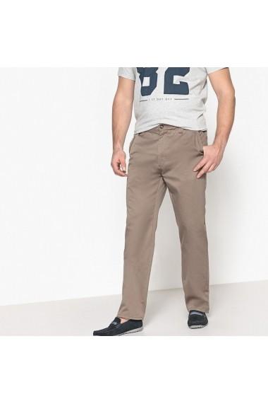 Pantaloni lungi CASTALUNA FOR MEN GET633 gri-bej