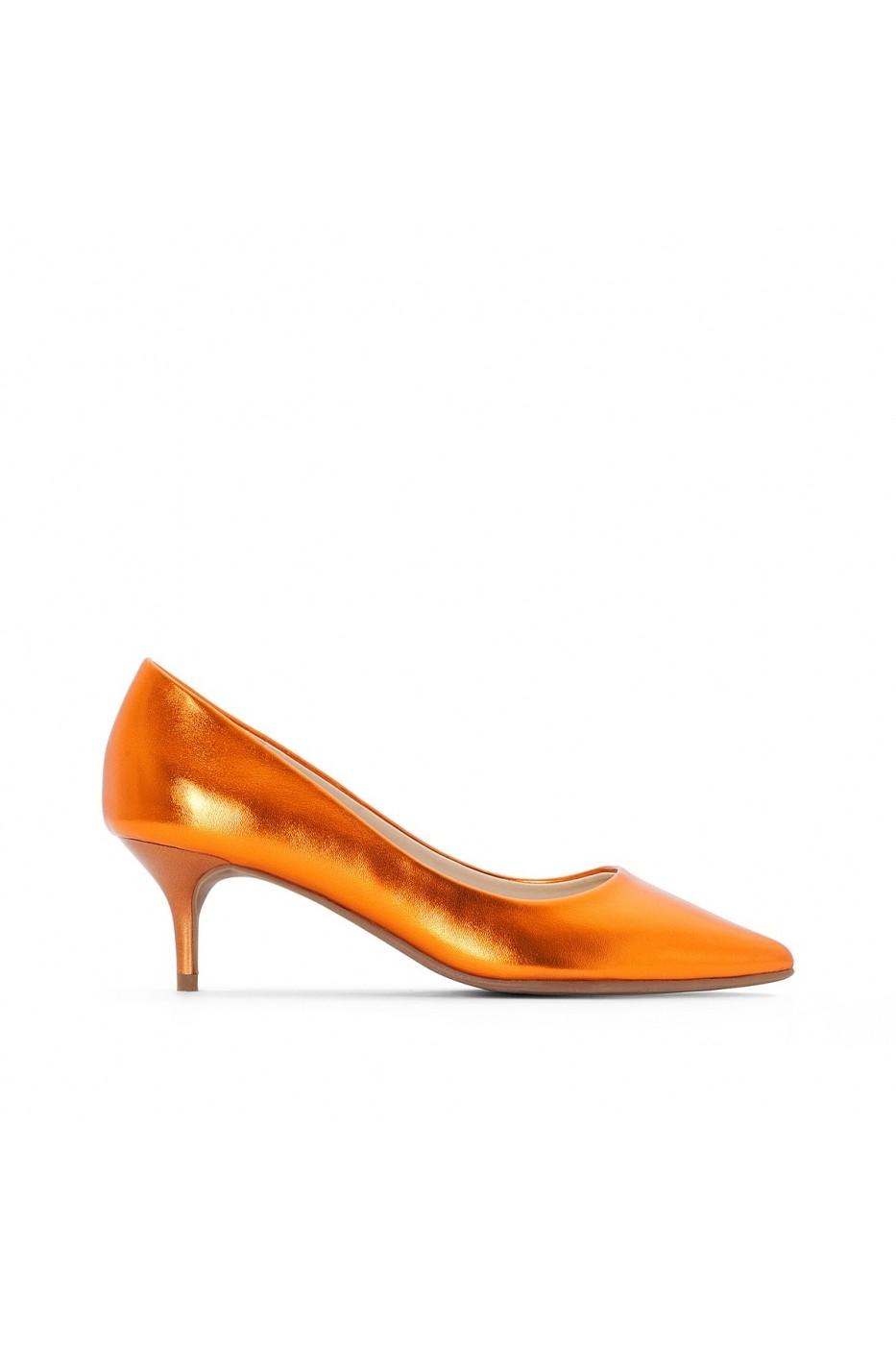 52c438417b MADEMOISELLE R Magassarkú cipő LRD-GEI516-orange narancs - FashionUP!