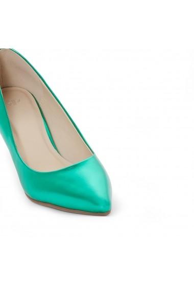 Pantofi cu toc MADEMOISELLE R GEI516 verde