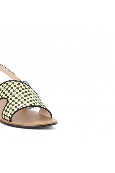 Sandale plate MADEMOISELLE R GDW595 galben - els