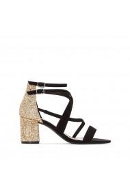 Sandale cu toc MADEMOISELLE R GEG351 negru