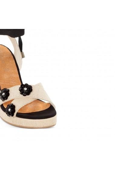 Sandale cu toc MADEMOISELLE R GEK494-beige Bej