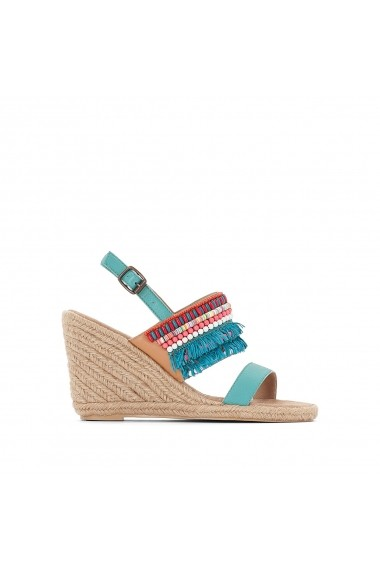 Sandale cu toc MADEMOISELLE R GEM410 turcoaz