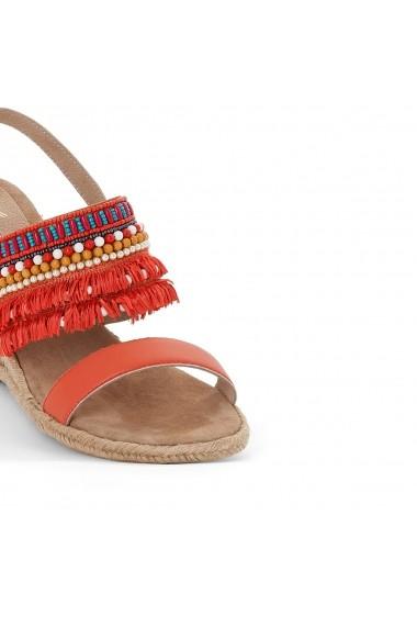 Sandale cu toc MADEMOISELLE R GEM410 rosu