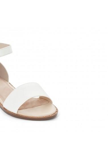 Sandale plate MADEMOISELLE R GEP438 alb - els
