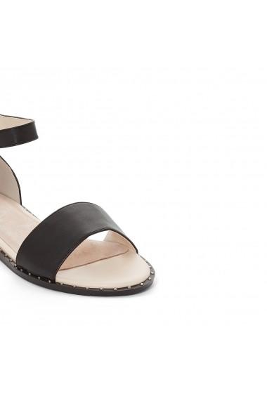 Sandale plate MADEMOISELLE R GEP438-black Negru - els
