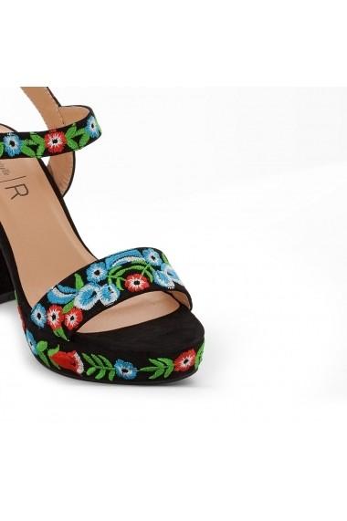Sandale cu toc MADEMOISELLE R GEP990 negru