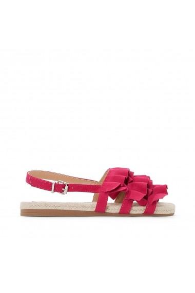 Sandale plate MADEMOISELLE R GEU400 fuchsia
