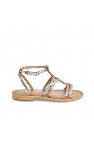 Sandale LES TROPEZIENNES par M BELARBI GHI394 argintiu