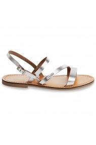 Sandale plate LES TROPEZIENNES par M BELARBI GCW137 argintiu