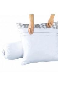 Protectie perna REVERIE GBW099 50x70 cm alb