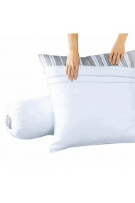 Protectie perna tubulara REVERIE GBW100 90 cm alb