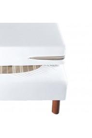 Protectie saltea La Redoute Interieurs GBY158 160x200 cm alb